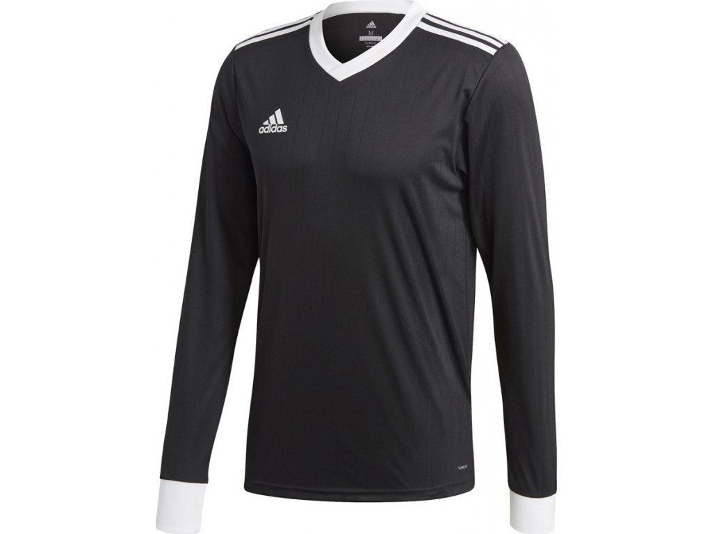 Dres adidas Tabela 18 Jersey Long Sleeve čierny CZ5455