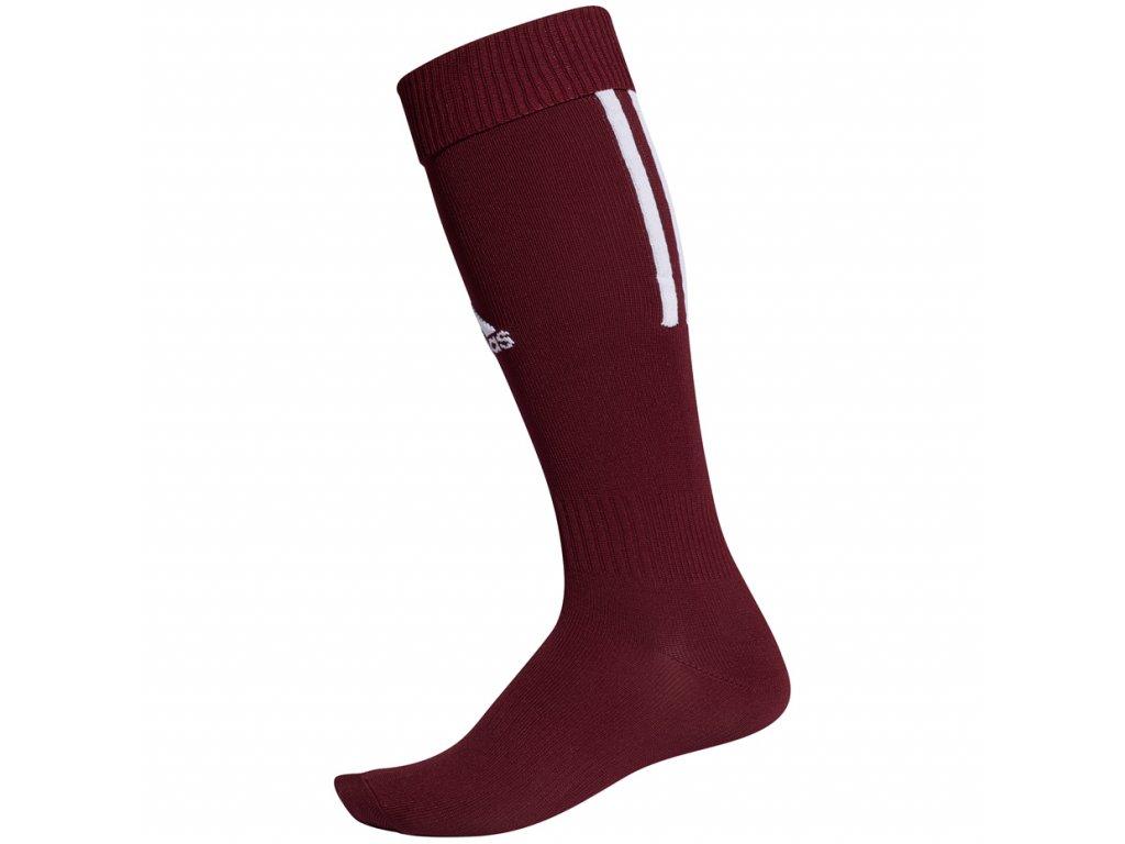 getry pilkarskie adidas santos 18 sock bordowe cv8