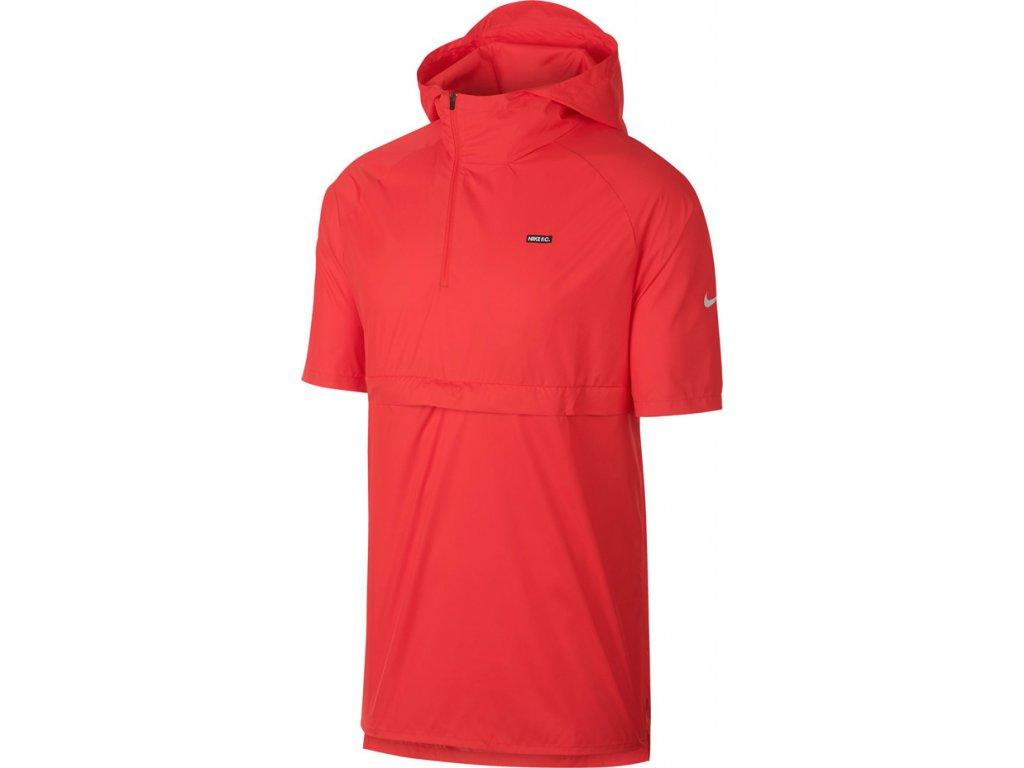Bunda Nike M FC Hooded JKT SS červená 928879 696