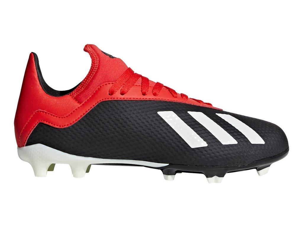 Detské futbalové kopačky adidas X 18.3 FG JR BB9370