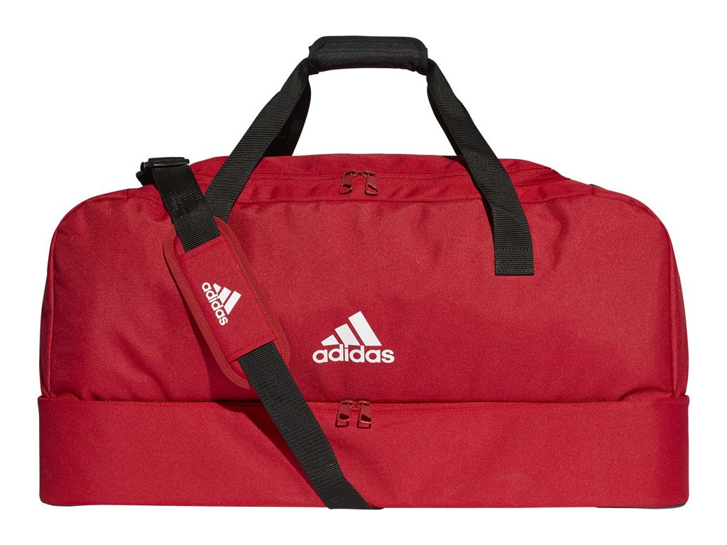 Taška adidas Tiro Duffel BC L červená DU1990