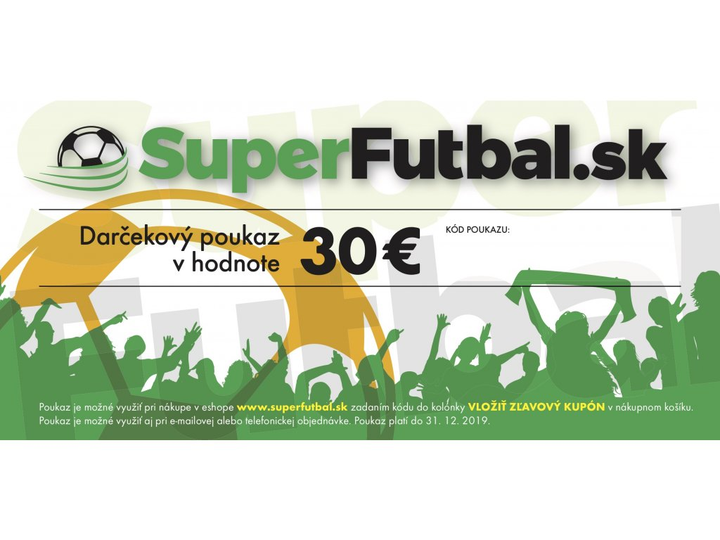 1f0f19ad7 Darčekový poukaz superfutbal.sk | Superfutbal.sk