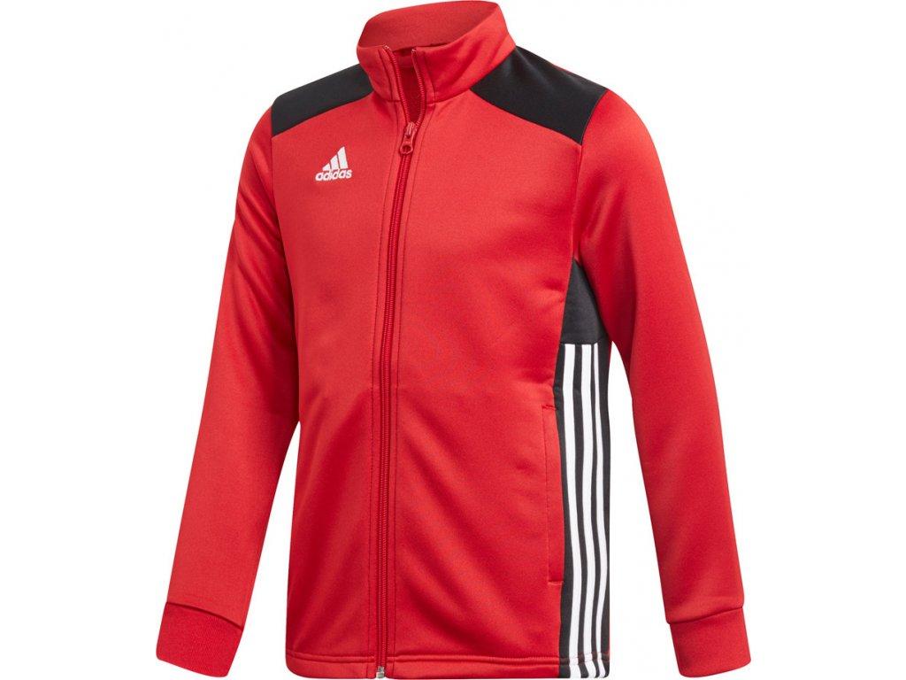 Mikina Adidas REGISTA 18 PES detská - červená CZ8633
