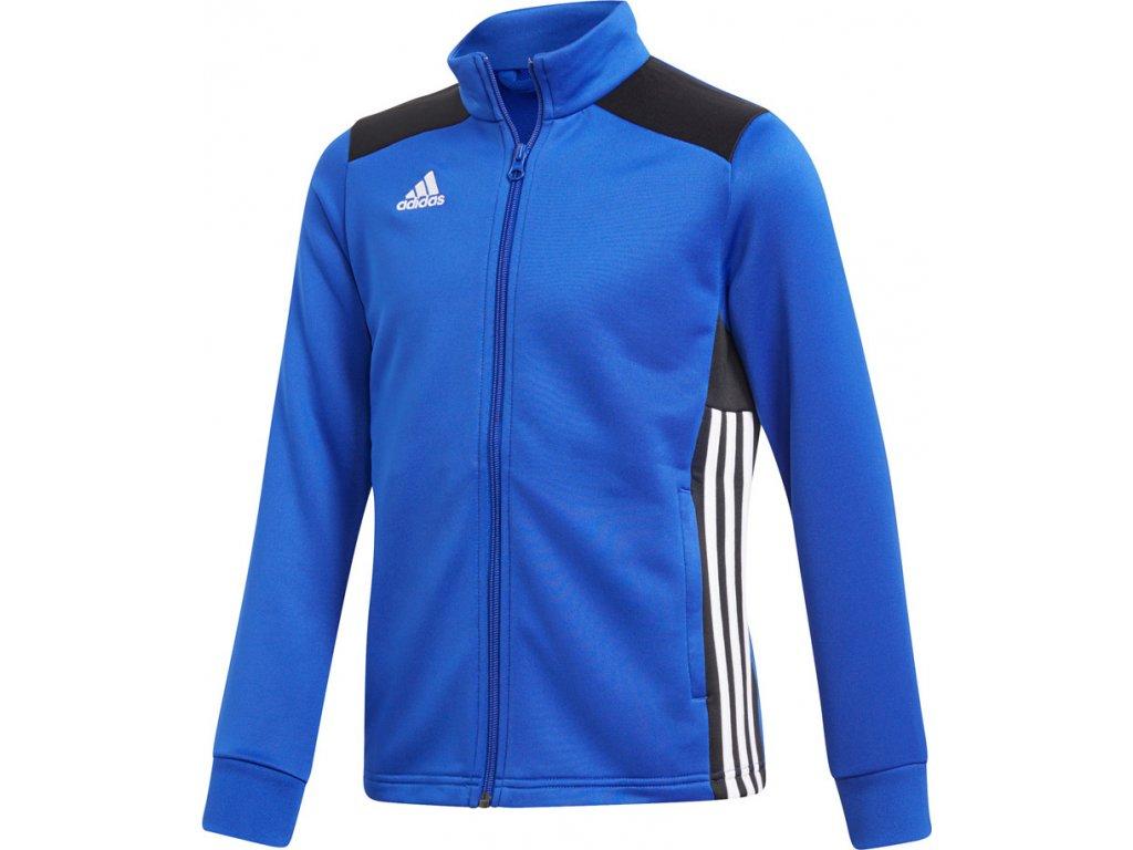 Mikina Adidas REGISTA 18 PES detská - modrá CZ8631