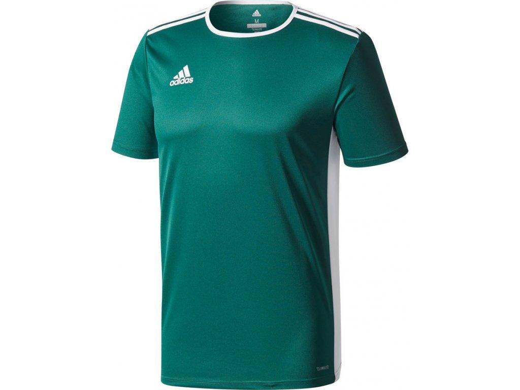 Detský dres adidas ENTRADA 18 JR zelený  CD8358
