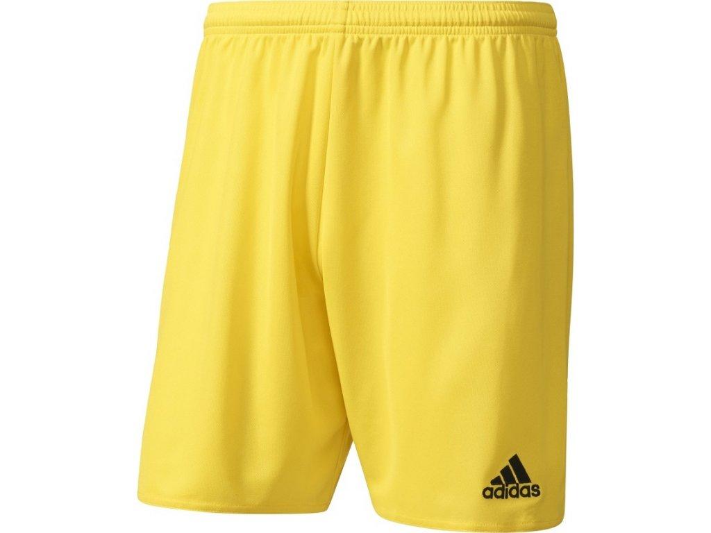 Detské šortky adidas PARMA 16 JR žlté AJ5885