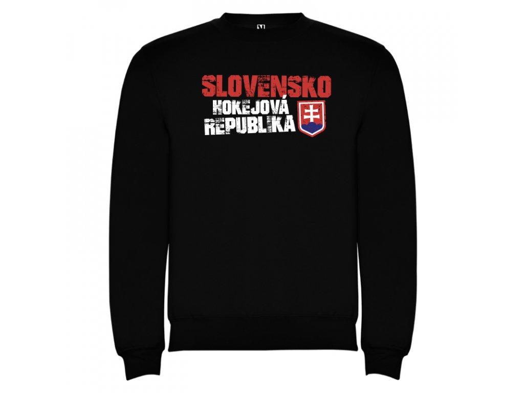1f98b360dc8 Mikina Slovensko hokej, čierna