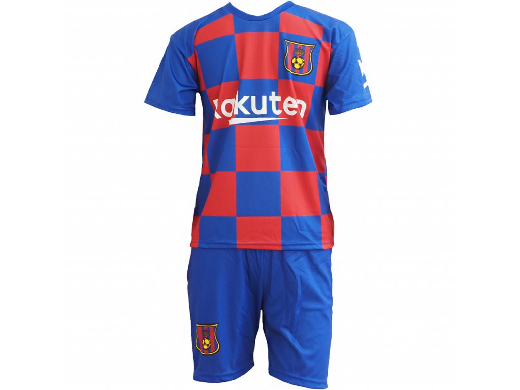 Komplet Replika Messi FC Barcelona 2019/20 bordový
