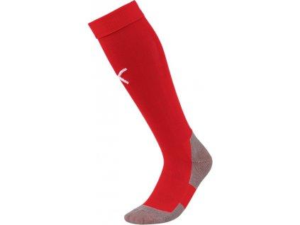Štucne Puma Liga Socks Core červené 703441 01