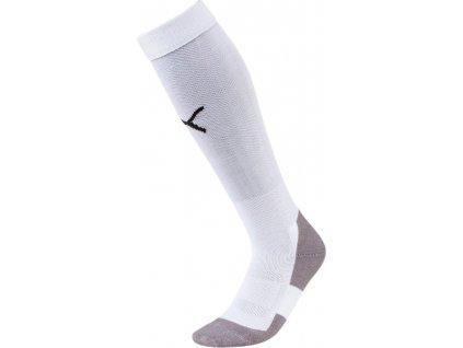 Štucne Puma Liga Socks Core biele 703441 04