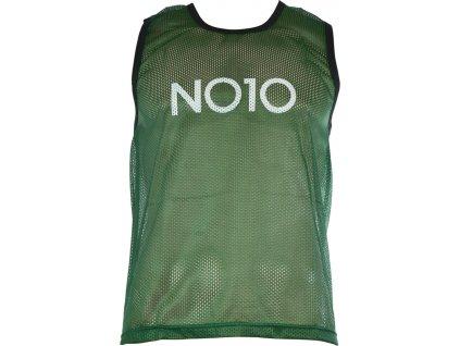 Rozlišovacia vesta NO10 zelená TBN-801SF G