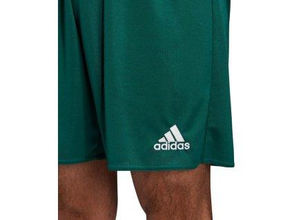 spodenki adidas parma 16 zielone dm1698 przod