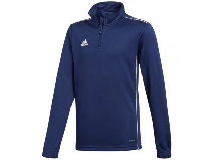 bluza adidas core 18 training top jr cv4139 przod