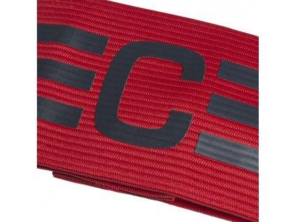 opaska kapitana adidas czrwona cf1053 przod