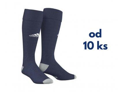 Sada štucní Adidas Milano, detské aj dospelácke veľkosti, tmavo modrá farba
