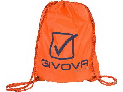 Vrecko na topánky GIVOVA SACCHETTO oranžové fluo