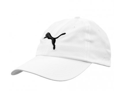 Šiltovka Puma Essential Cap, biela, veľkosť Adult