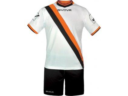 Športový komplet GIVOVA TRASVERSAL tmavomodro-oranžový