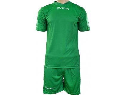Športový komplet Givova Kit MC zelený