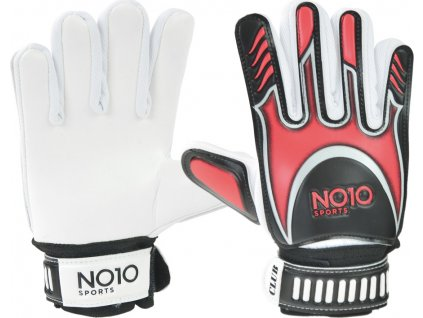 Brankárske rukavice NO10 Club červené 56094