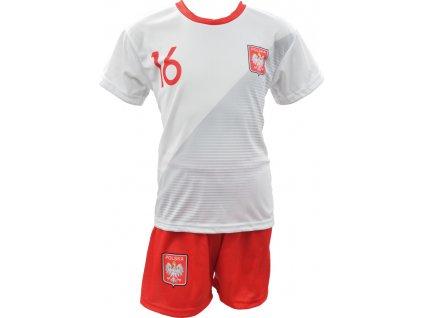 Športový komplet Replika Błaszczykowski Polska Mundial 2018 biely