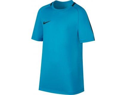 Detský dres Nike NK Dry Top SS Academy JUNIOR modrý 832967 434