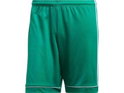 Detské šortky adidas Squadra 17 JR zelené BJ9231