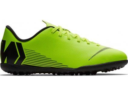 Detské futbalové turfy Nike Mercurial Vapor X 12 Club TF JR AH7355 701