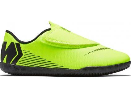 Detské futbalové halovky Nike Mercurial Vapor 12 Club PS(V) IC JR AH7356 701