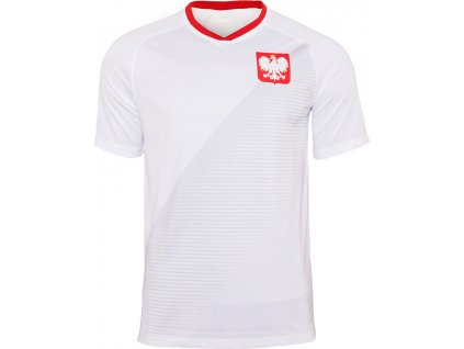 Detský dres Replika Polska Mundial 2018 JR biely