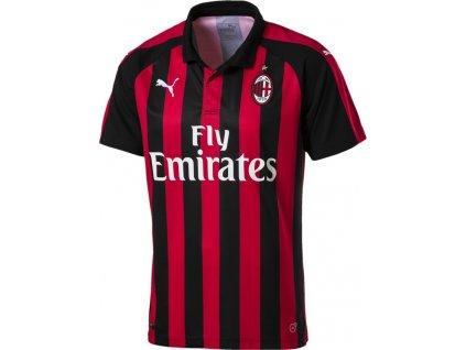 Dres Puma AC Milan Home Shirt Replica SS 754419 06