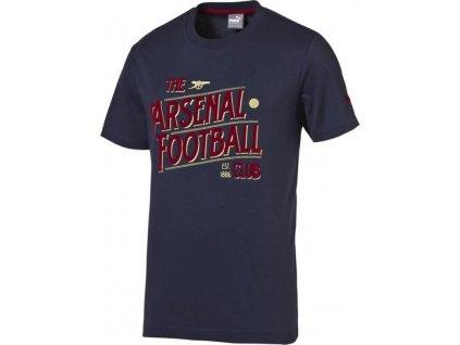 Detské tričko Puma Arsenal Football Club Graphic Fan Tee Junior 74748802