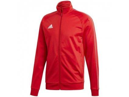 bluza adidas core 18 pes czerwona cv3565 przod