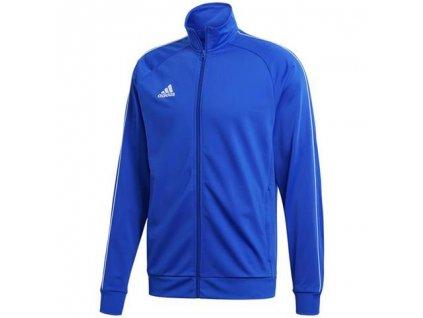 bluza adidas core 18 pes niebieska cv3564 przod