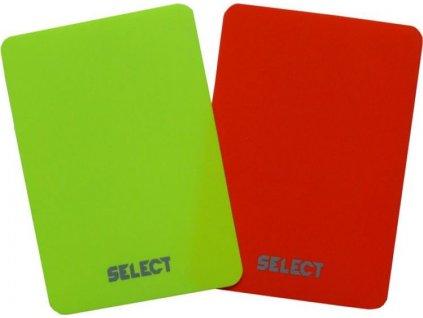 Rozhodcovské karty Select 2ks. 0613