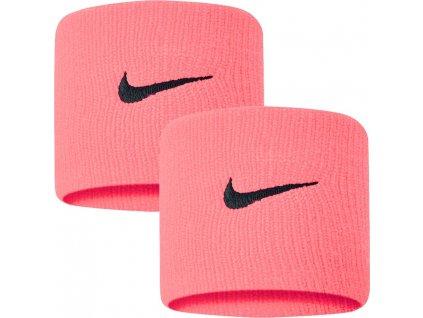 Potítka Nike Swoosh różowa 2 ks. N0001565677
