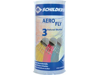 Badmintonové košíky Schildkrott Aero Fly farebné 3 kusy 970911