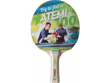 Raketa na stolný tenis New Atemi 100 concave
