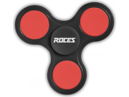 Fidget Spinner Roces čierna / červená 30596 02