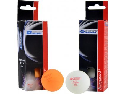 Loptičky na stolný tenis Donic Avangarde 3 oranžová 3 kusy