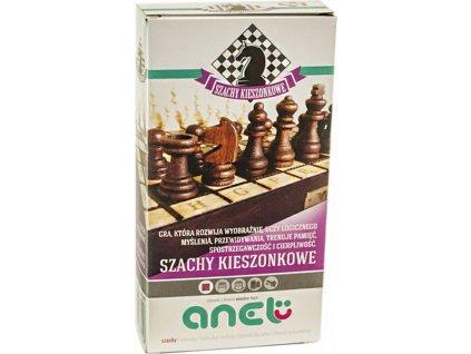 Vreckové šachy 20 cm