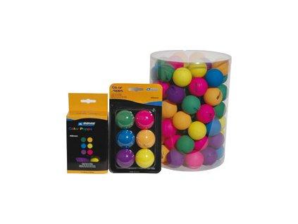 Loptičky na stolný tenis Donic Color 90kusov