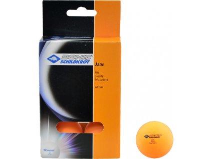Loptičky na stolný tenis Donic Jade 6 kusov oranžová