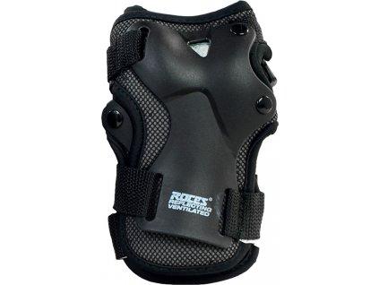 Detské chrániče na zápästie Roces Ventilated WristGuard JR čierna 301355 01