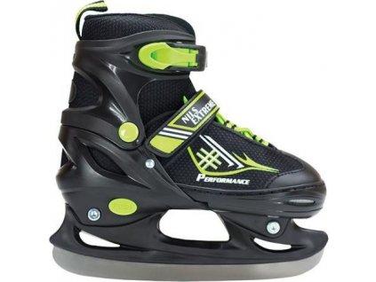 Hokejové korčule Nils Extreme Black/Green r.30-33 NH7104 A