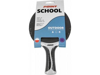 Raketa na stolný tenis POINT School Outdoor