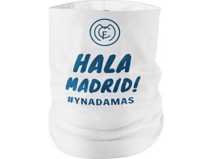 Nákrčník Hala Madrid, biely