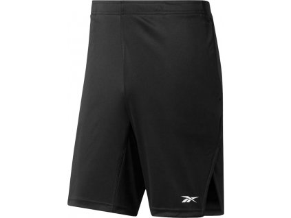 Šortky Reebok Workout Ready Commercial Knit Short čierna FP9186
