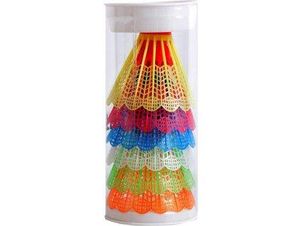 Badmintonové košíky, plastové TB021 Teloon SMJ 6ks
