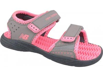 Detské sandále New Balance Jr K2004PKG szare